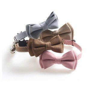 Adjustable Buckle Bow Tie