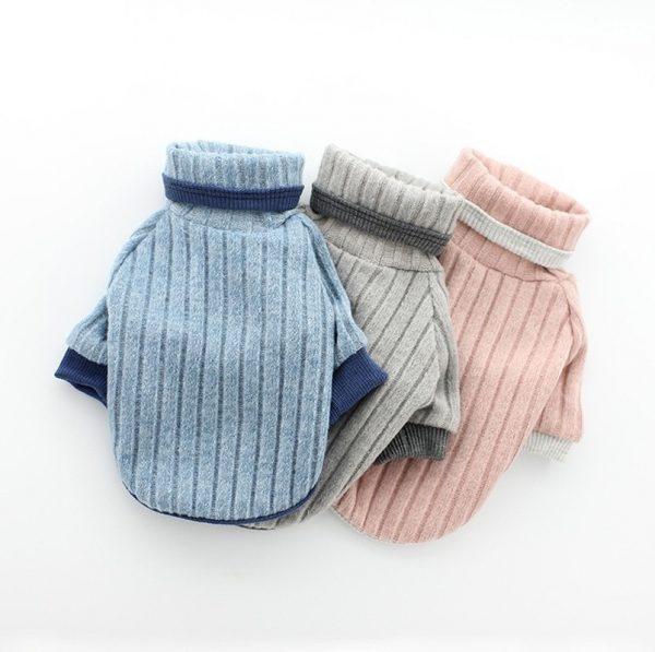 Soft Cotton Turtleneck Sweater