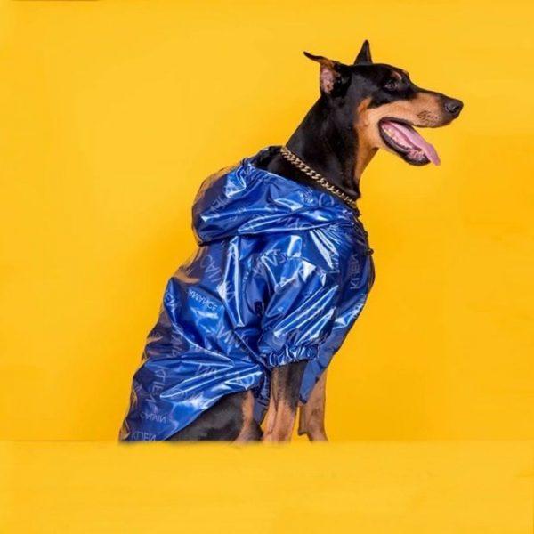 Dog Laser Reflective Outdoor Jacket