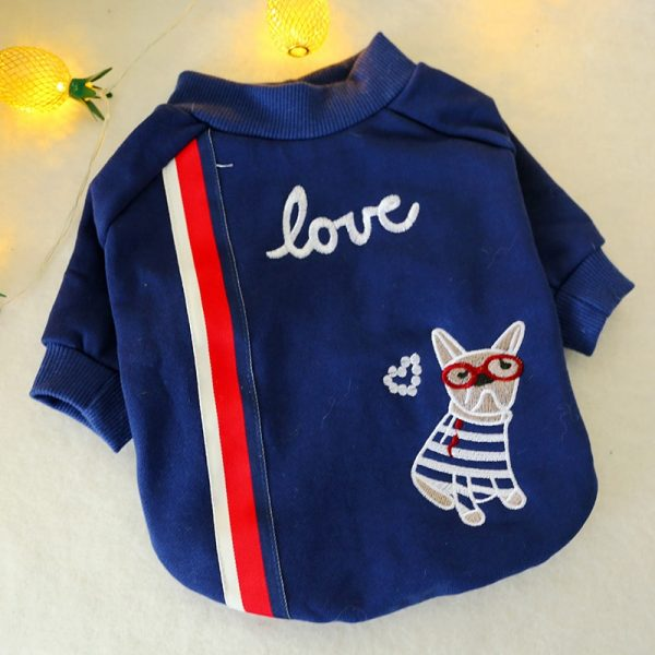 Cute Paris Love Dog T-Shirt