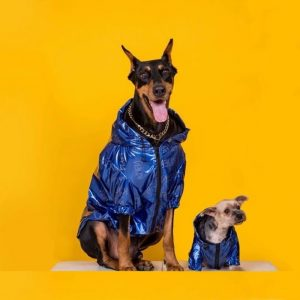 Dog Laser Reflective Outdoor Jacket