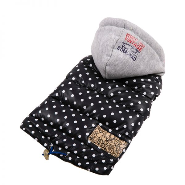 Polka Waterproof Hooded Jacket