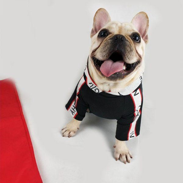 Stylish Black Red White Hoodie