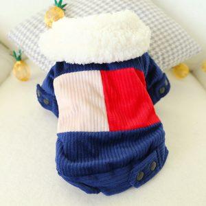 Colorful Cotton Corduroy Coat